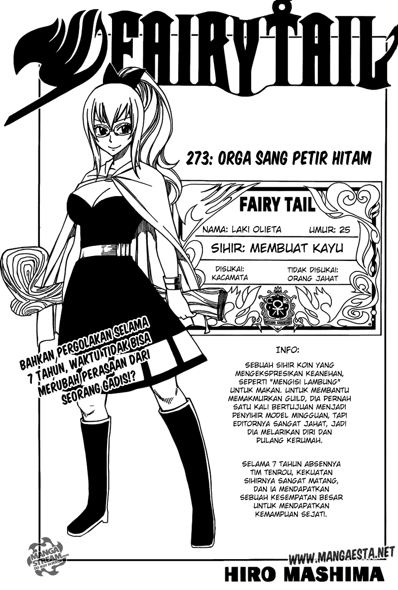 Fairy Tail: Chapter 273.0 - Page 1