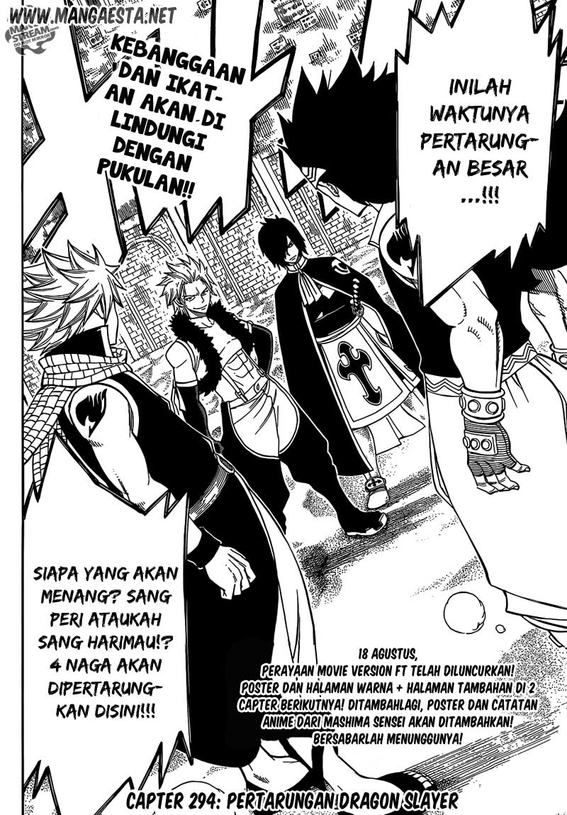 Fairy Tail: Chapter 294.0 - Page 19