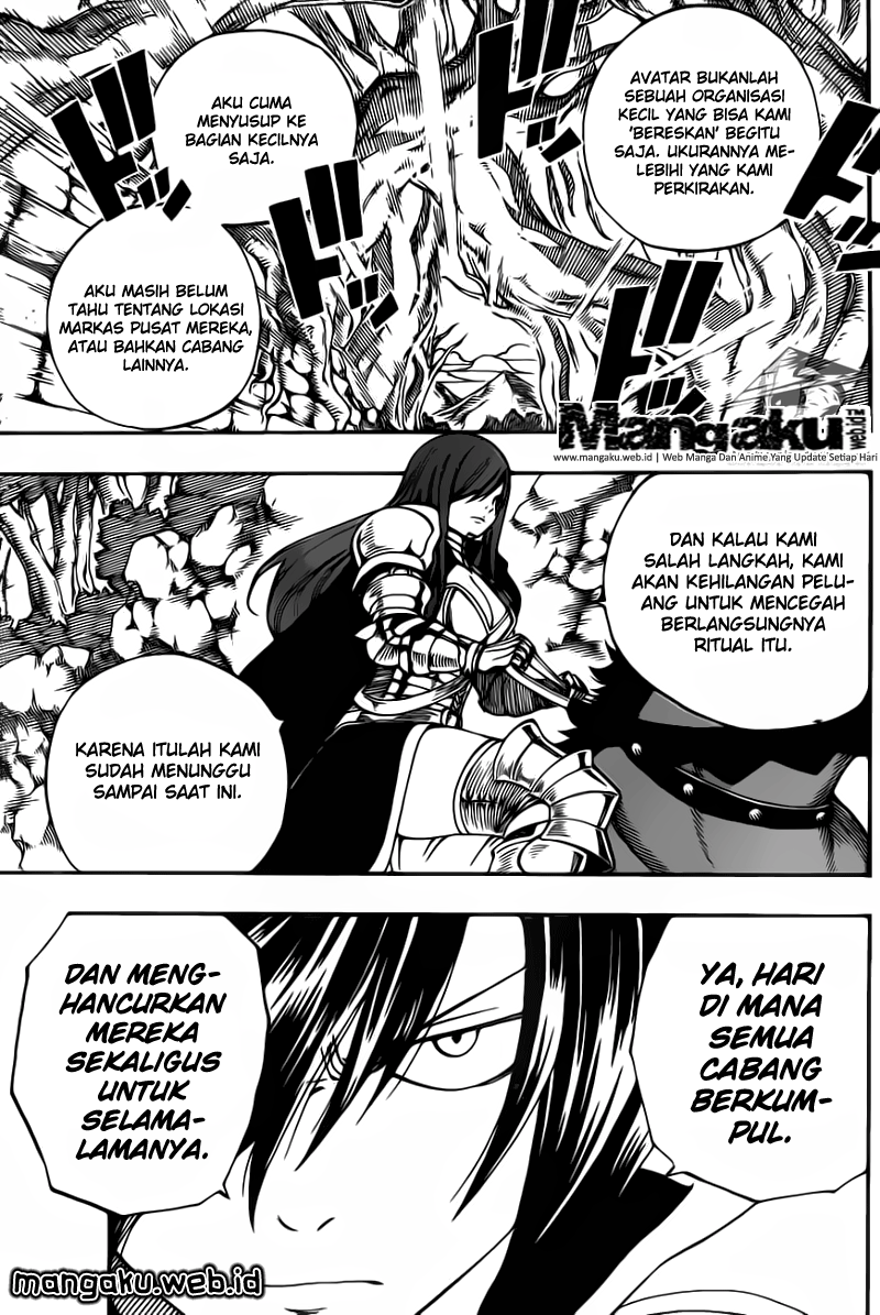 Fairy Tail: Chapter 430.0 - Page 8