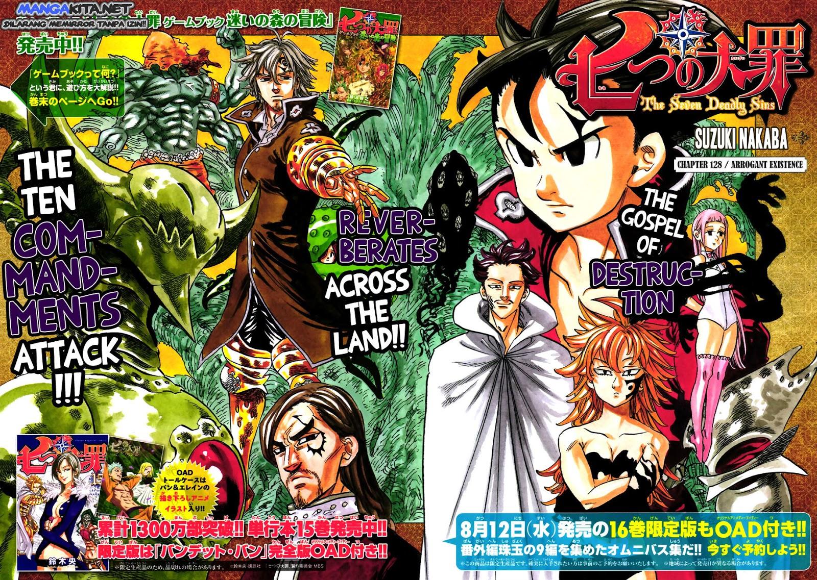 Nanatsu No Taizai: Chapter 128 - Page 2