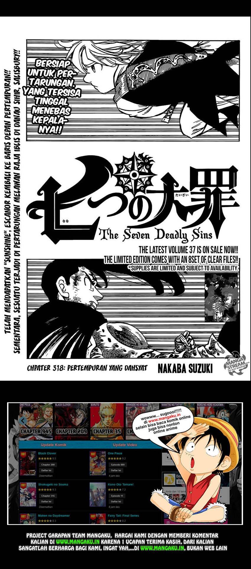 Nanatsu No Taizai: Chapter 318 - Page 2