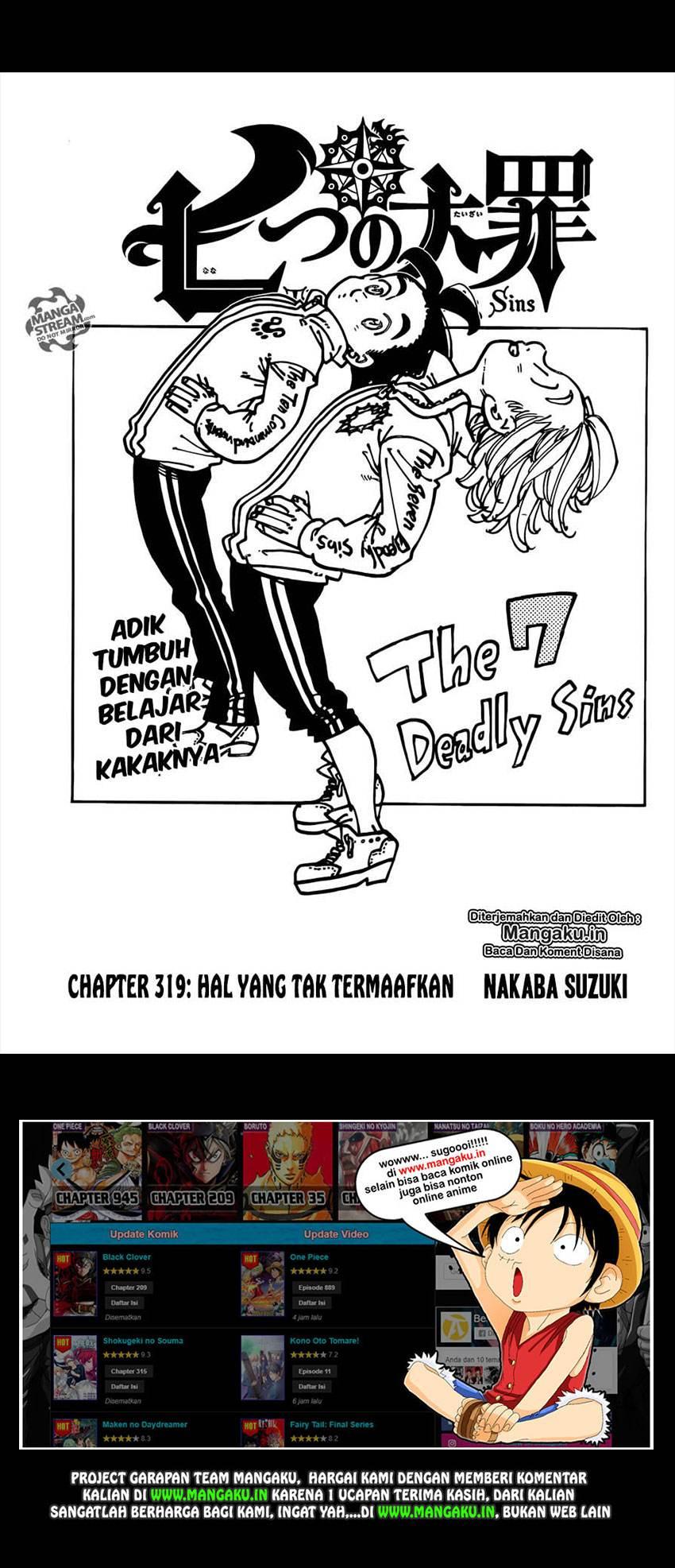 Nanatsu No Taizai: Chapter 319 - Page 2