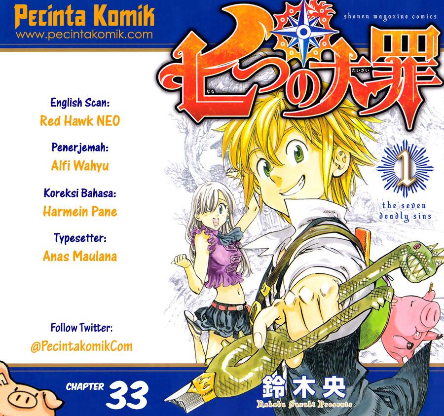 Nanatsu No Taizai: Chapter 33 - Page 1