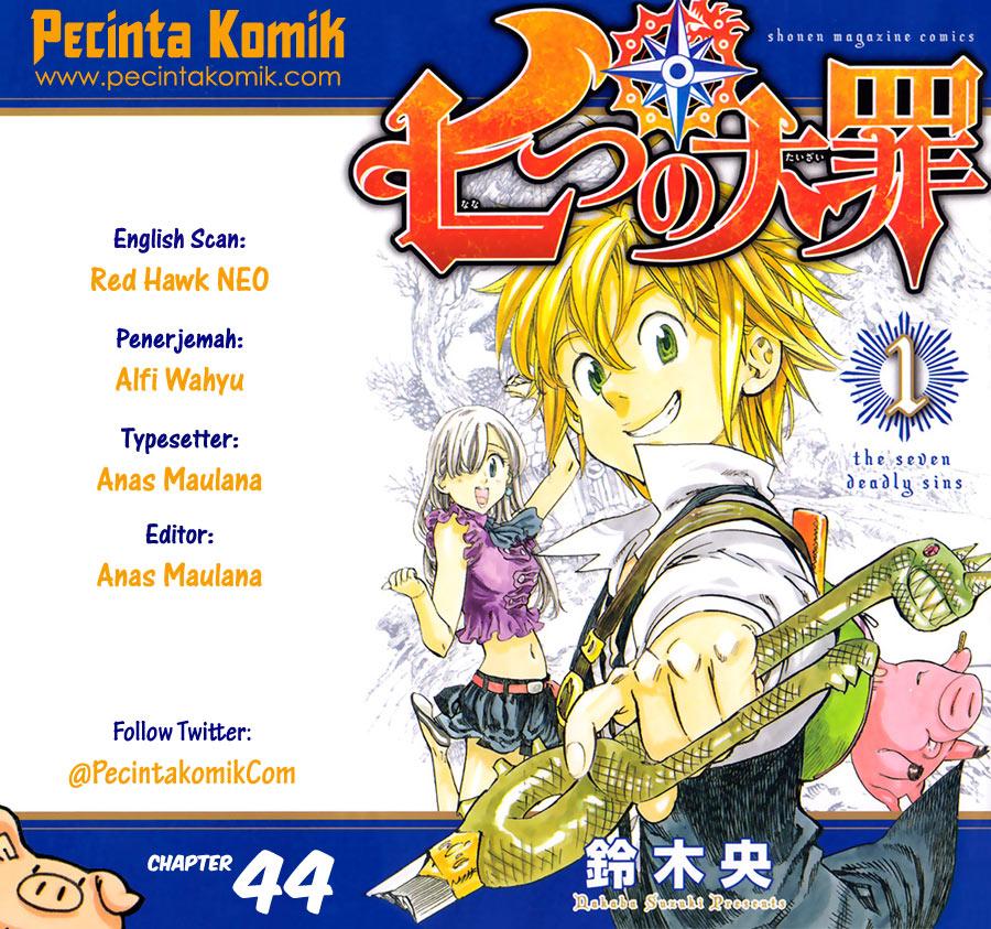 Nanatsu No Taizai: Chapter 44 - Page 1