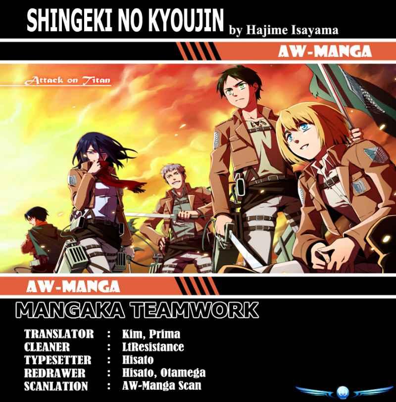 Shingeki No Kyojin: Chapter 8 - Page 1